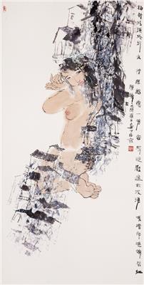 陈醉中国画作品